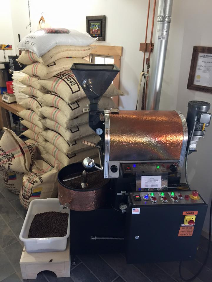 Roasting transforms green coffee into the aromatic brown beans that we purchase in our favorite stores and cafes. During roasting, the characteristic coffee taste and aroma is formed, along with the typical brown color of the beans. By variation of the roasting conditions it is possible to achieve the specific flavor profile of the final coffee according to the preferences of the consumer. Green coffee beans are heated to between 400°F and 480°F for 15 to 25 minutes. Longer roasting will generate a darker color and more intense aroma and flavor. Following roasting, the beans are cooled to room temperature. They may then be packaged as whole beans or ground for their intended use which will also influence the taste in the cup. Roasting occurs in the importing country because freshly roasted beans must reach the consumer as quickly as possible.