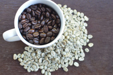 Green Colombian Coffee Beans