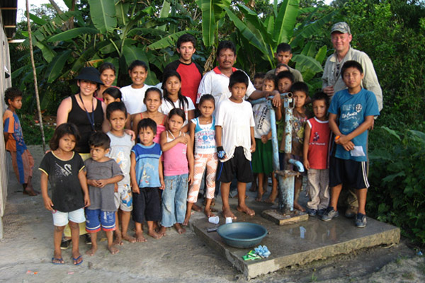 Your purchase supports water wells for clean drinking water.